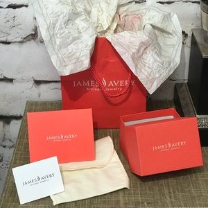 James Avery Gift Bag/Box, Cloth Bag, Tissue Paper